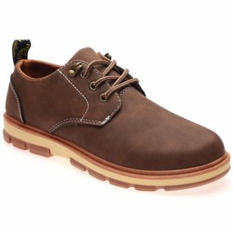 Giày Bốt Nam Thời Trang Hnp Gn048 (Nâu)