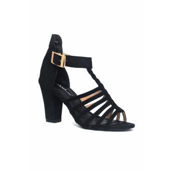 Sandal gót vuông 7 phân ANA Le