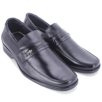 Giày tây nam da bò thật MB341 (Đen)