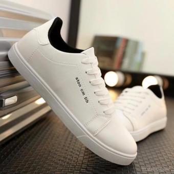 Giày casual nam ROZALO RMG5638W-Trắng