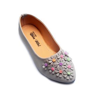 Giày búp bê Lopez Cute B187 (Xám)
