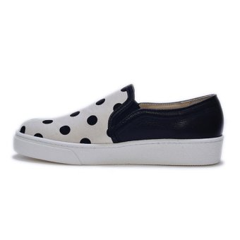 Giày Slip - On MUST Korea Chấm Dot