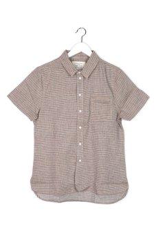 Native Youth Multicolour Woven Shirt (Stone)