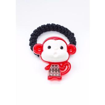 Cột tóc Aznavous Graine De Beaute phong cách Hàn Quốc màu đỏ