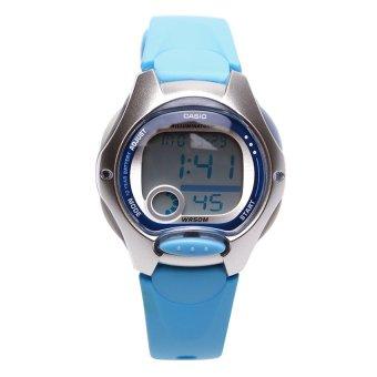 Đồng hồ dây nhựa resin Casio LW-200-2BVDF (Xanh)