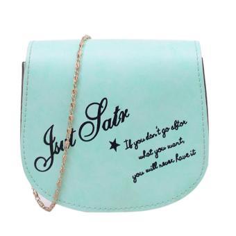 Women Shoulder Bags Messenger Bag(Green) - intl