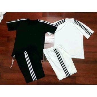 Sét bộ đồ thể thao nam B183 (trắng)