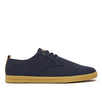 Giày Sneaker nam Clae Ellington Textile (Cla01275) (Xanh Navy Đậm)