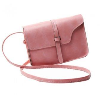 Túi xách đeo chéo nữ (Hồng)
