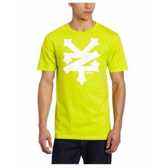 Áo thun cổ tròn nam Zoo York Men's Crackerjack T-Shirt (Xanh lá cây neon)