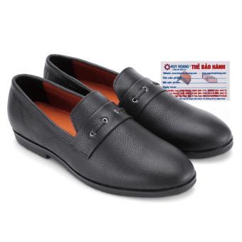 HL7737 - Giày nam Huy Hoàng đan 1 dây màu đen
