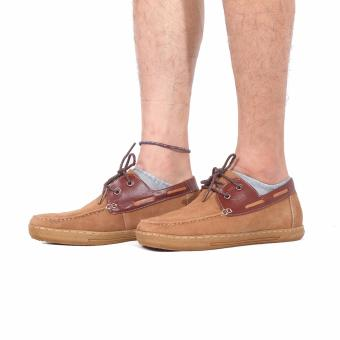Giày Da Lộn Tăng Chiều Cao Trẻ Trung Gl-01 (Nâu)