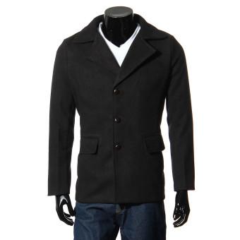 Winter Men's Warm Slim fit Lapel Coat Peacoat Trench Parka Overcoat Long Jacket - Intl