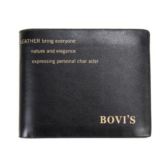 New Men Bifold Wallet(Black) - intl