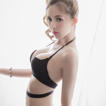 MPO Nội y - Áo lót mặc 7 kiểu sexy quyến rũ (ĐEN)-Origiver