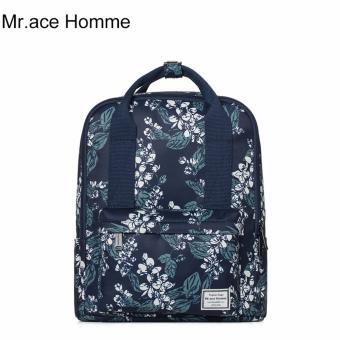Balo Thời Trang Mr.ace Homme MR16C0395B01 / Xanh đen phối hoa