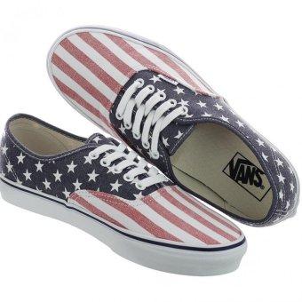 Giày thời trang Vans VN-0VOEC7H (Họa tiết Cờ Mỹ)