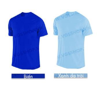 Bộ 2 Áo Thun Nam LAKA màu xanh nước biển, xanh da trời LKA1718