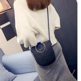 Túi xách thời trang quai tròn PM01(ĐEN)