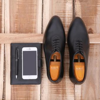 Giày công sở nam tăng chiều cao GC-02S (Đen)