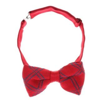 BolehDeals Classic Fashion Novelty Mens Adjustable Tuxedo Wedding Bow Tie Necktie #8 - intl