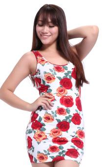 Đầm xẻ lưng Haruchan (Hồng)