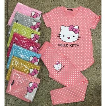 bộ kitty quần dài áo tay ngắn
