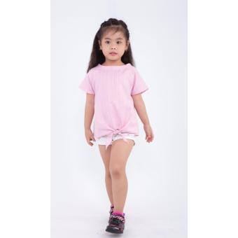 Áo kiểu bé gái Ugether UKID169 (Hồng)