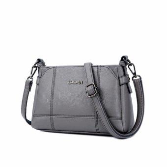 Túi xách nữ cao cấp phong cách sang trọng AIB058 (Xám tro) - 4081145