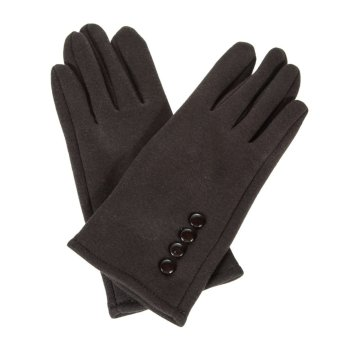 Women Winter Warm Gloves Touch Screen Sport Ski Gloves Mittens Coffee - intl