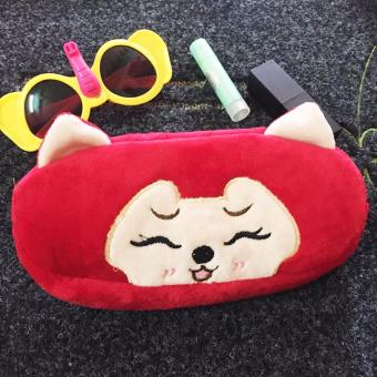 Ví Mỹ Phẩm Kute Mèo Đỏ