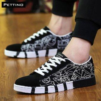 giày vải nam 2017 - Pettino GV02 (đen)