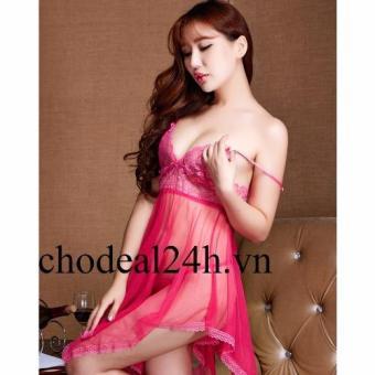 Váy ngủ Sexy Voan mỏng đệm Ren Chodeal24h.vn