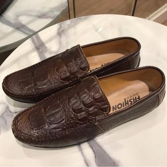 Giày Lười Nam Cao Cấp - Pettino GL10 (nâu)