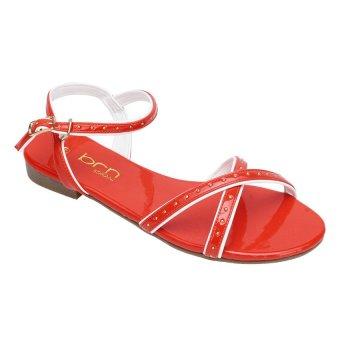 Giày xăng đan đế bằng Borani KS1014.6 (Coral)