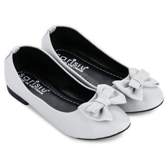 Giày búp bê nơ Sarisiu SRS832 (Xám)