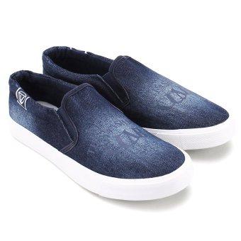 Giày thể thao nam AZ79 MNTT0130004A1 (Xanh đậm)
