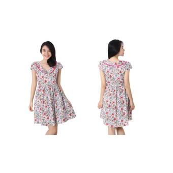 Đầm Hoa Cổ Sen Robin W454