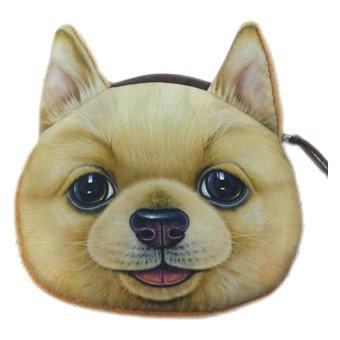 Fancyqube Dog Face Keys Coin Purse Wallet