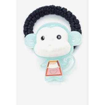 Cột tóc Aznavous Graine De Beaute phong cách Hàn Quốc màu xanh