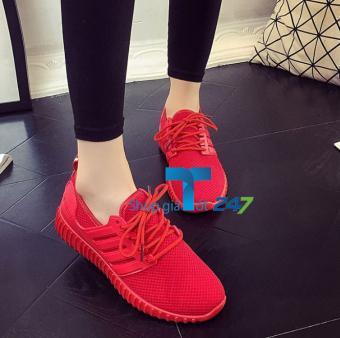 Giày sneaker Super Girl phong cách cho bạn gái (Đỏ)