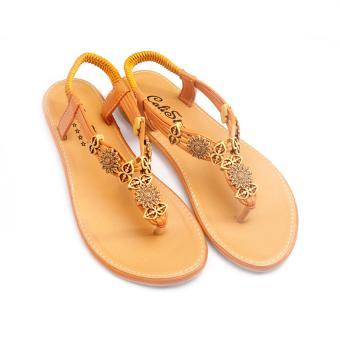 Giày xăng đan Lopez Cute D16 (Nâu)