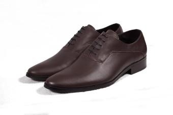 Giày tây nam cột dây màu nâu