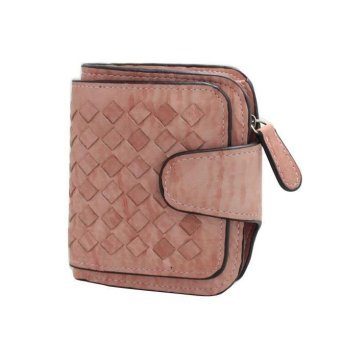 Women Bifold Wallet Clutch Card Holders Purse Short Handbag - intl