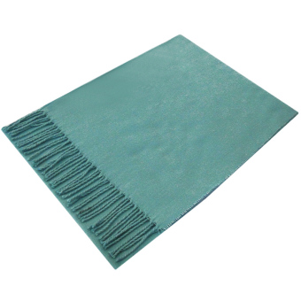 Moonar Women Men Autumn Winter Tassel Tippet Scarf Long Style Blue - Intl