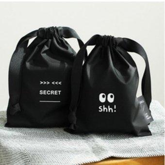 Bộ 2 túi đựng khăn giấy, mỹ phẩm, trang sức tiện dụng an toàn HQ 81TU22 2