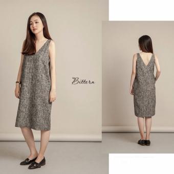 Đầm suông dịu dàng Xavia Clothes Bittern