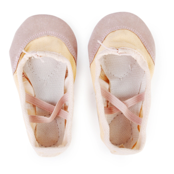 Incarnadine Canvas Dance Ballet Shoes for Toddler Girls US Size 9 1/2# 6 1/6 Inch - Intl