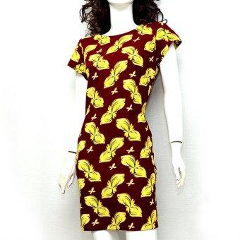Đầm bút chì ôm dáng dài MiDu Fashion (Họa tiết)