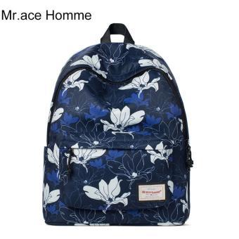 Balo Thời Trang Mr.ace Homme MR16B0353B01 / Xanh đen phối hoa